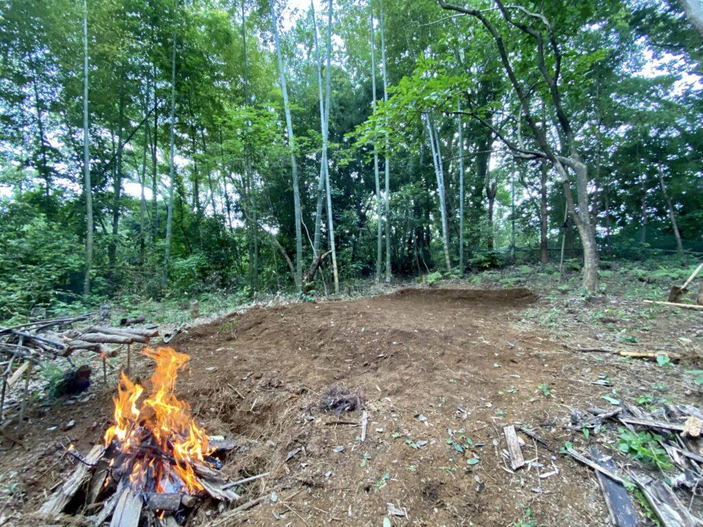 古道の森キャンプ場Aサイト